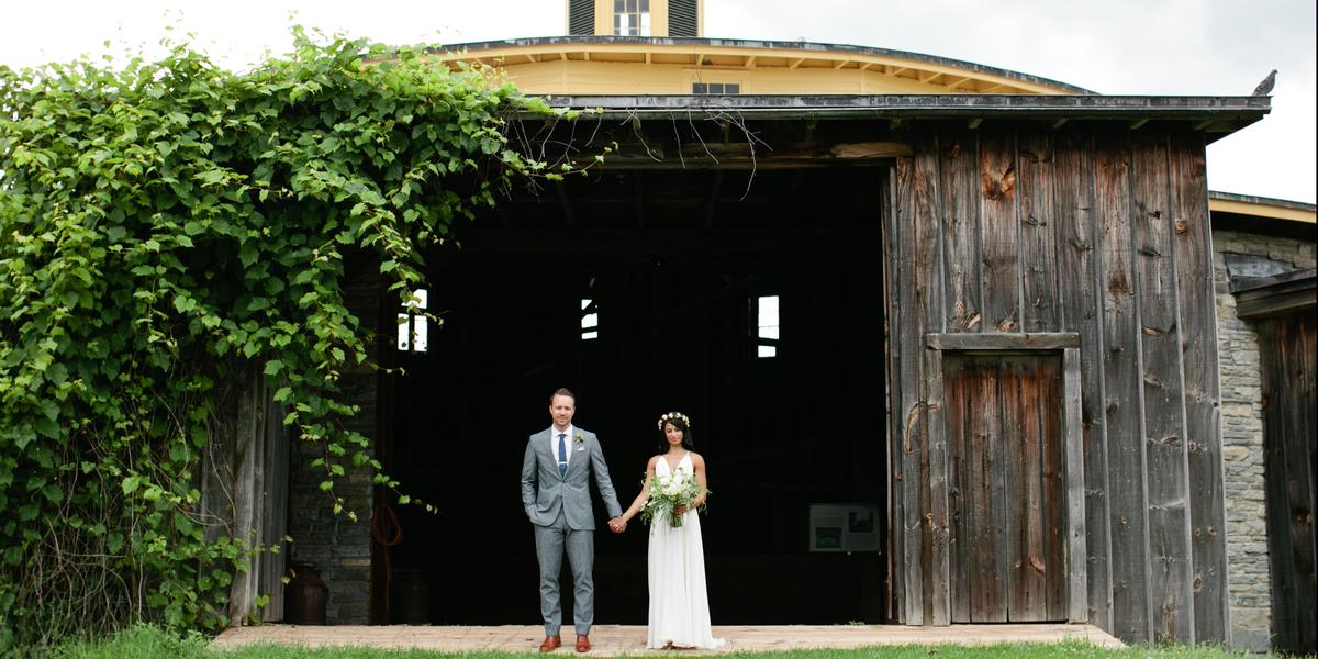 Hancock Shaker Village wedding Western Massachusetts