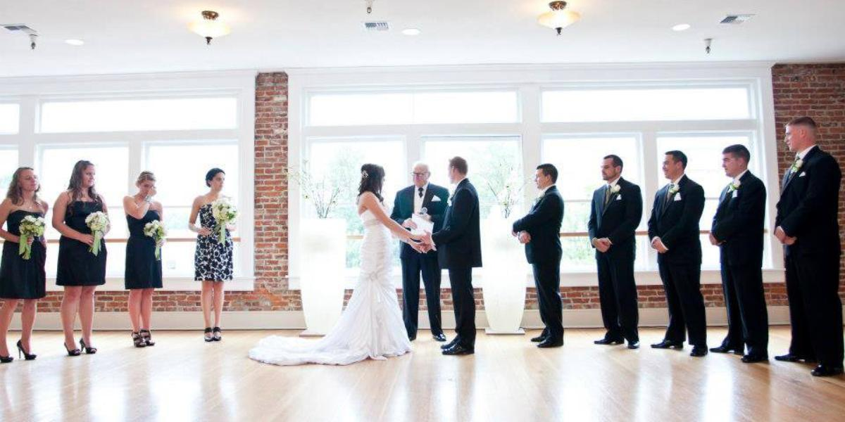 Flinn Block Hall wedding Willamette Valley