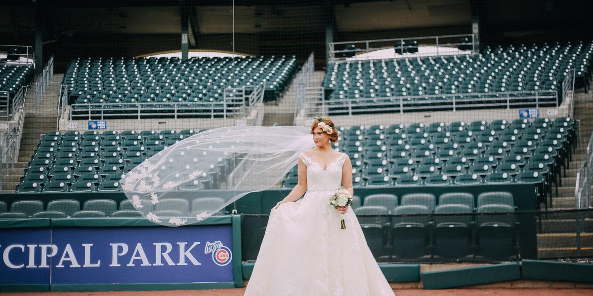 Principal Park wedding Des Moines