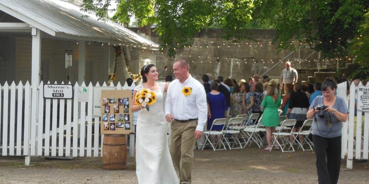 Historic Murray's Mill wedding Charlotte