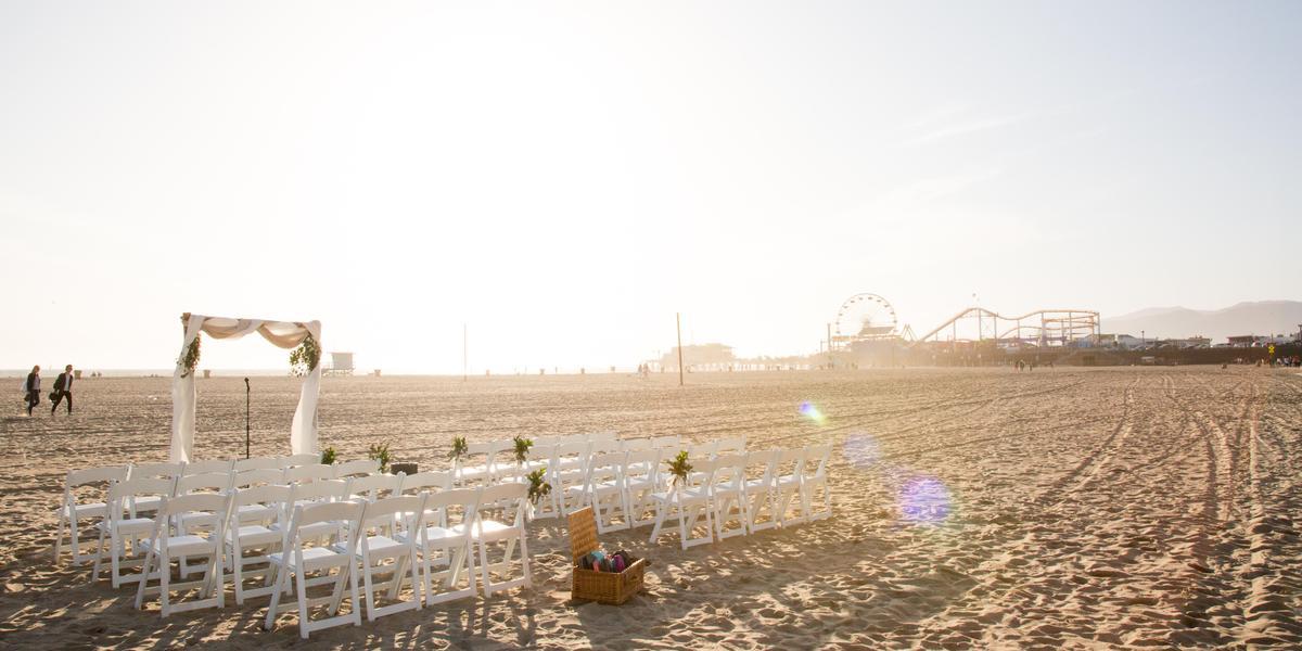 Loews Santa Monica wedding Los Angeles