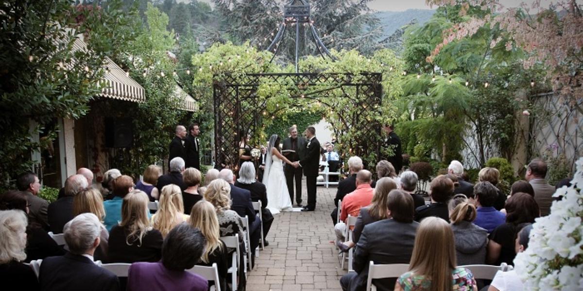Ashland Springs Hotel wedding Southern Oregon