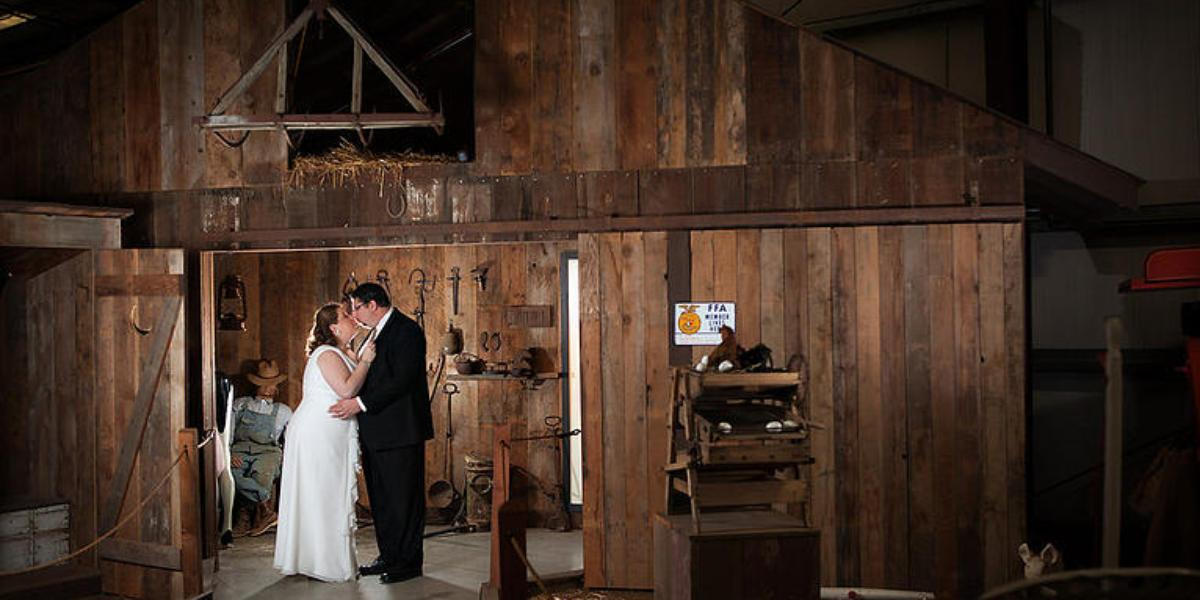 California Agriculture Museum wedding Sacramento