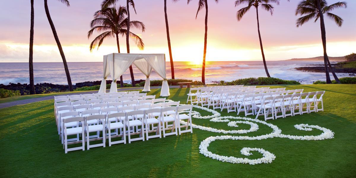 Sheraton Kauai Resort wedding Kauai