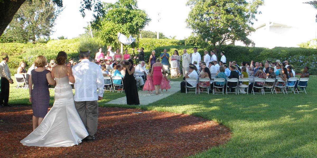 Arts Park Amphitheater wedding Fort Lauderdale