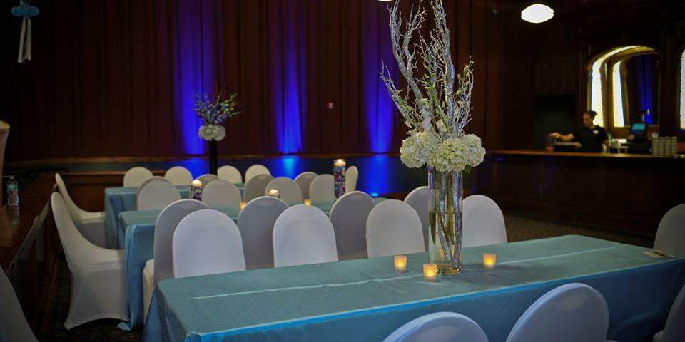 Dave & Buster's Hollywood wedding Miami