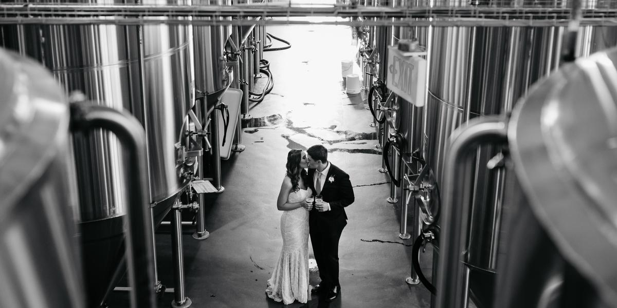 Stony Creek Brewery wedding New Haven