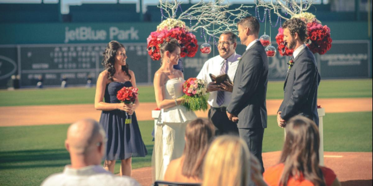 JetBlue Park wedding Naples/Fort Myers