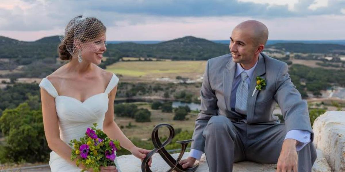 Ring Mountain Event Center wedding Hill Country