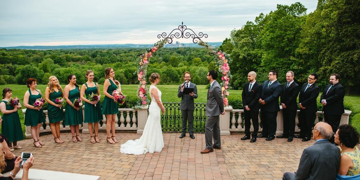Wickham Park wedding Hartford