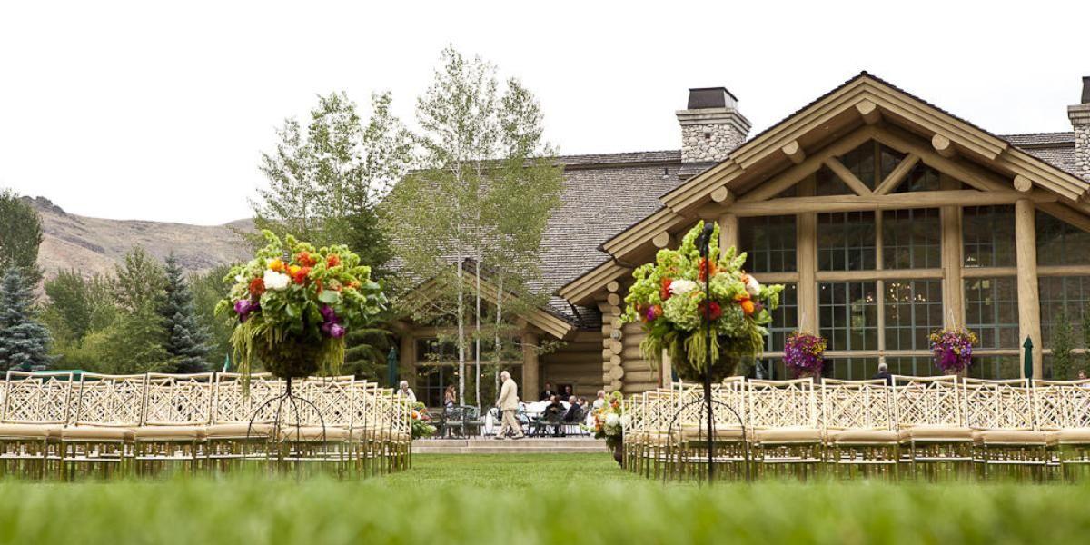 River Run at Sun Valley Resort wedding Idaho