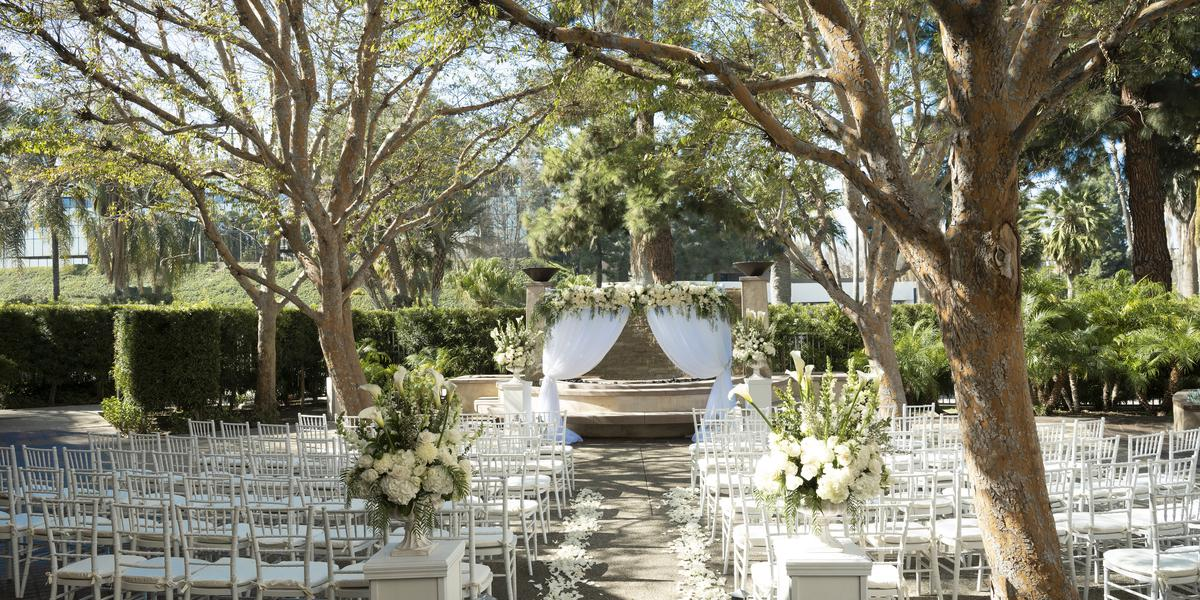 Warner Center Marriott Woodland Hills wedding Los Angeles