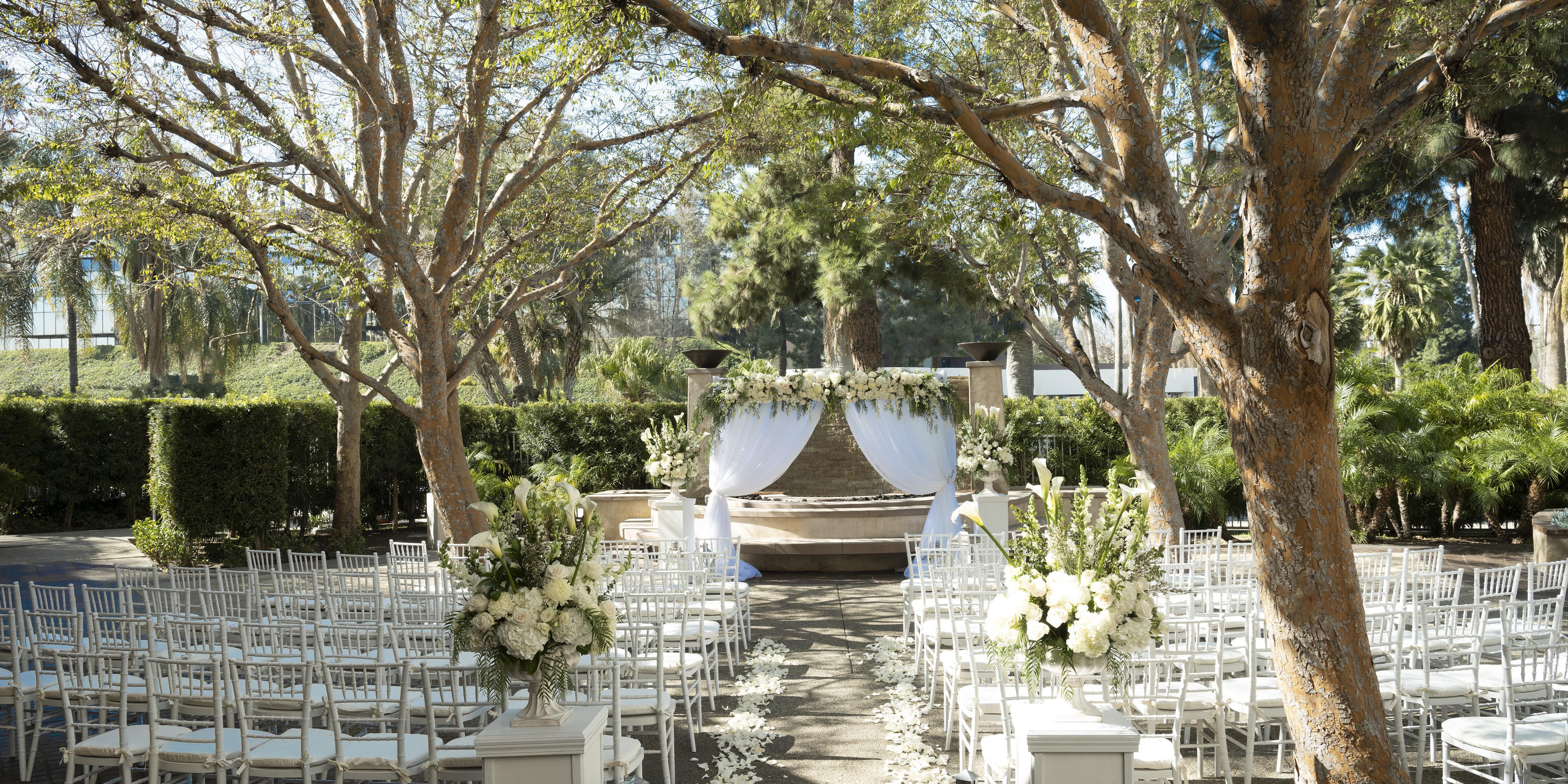 Warner Center Marriott Woodland Hills wedding Los Angeles