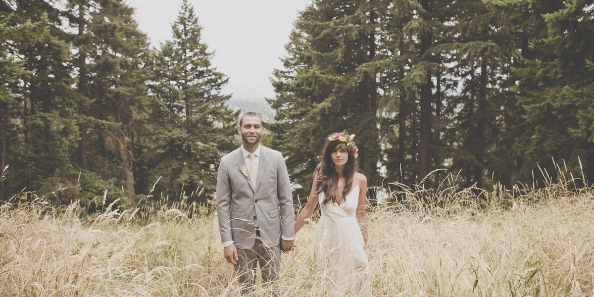Mt. Tabor Summit wedding Portland