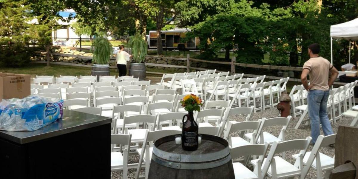 Captain Lawrence Brewing Co. wedding Westchester/Hudson Valley