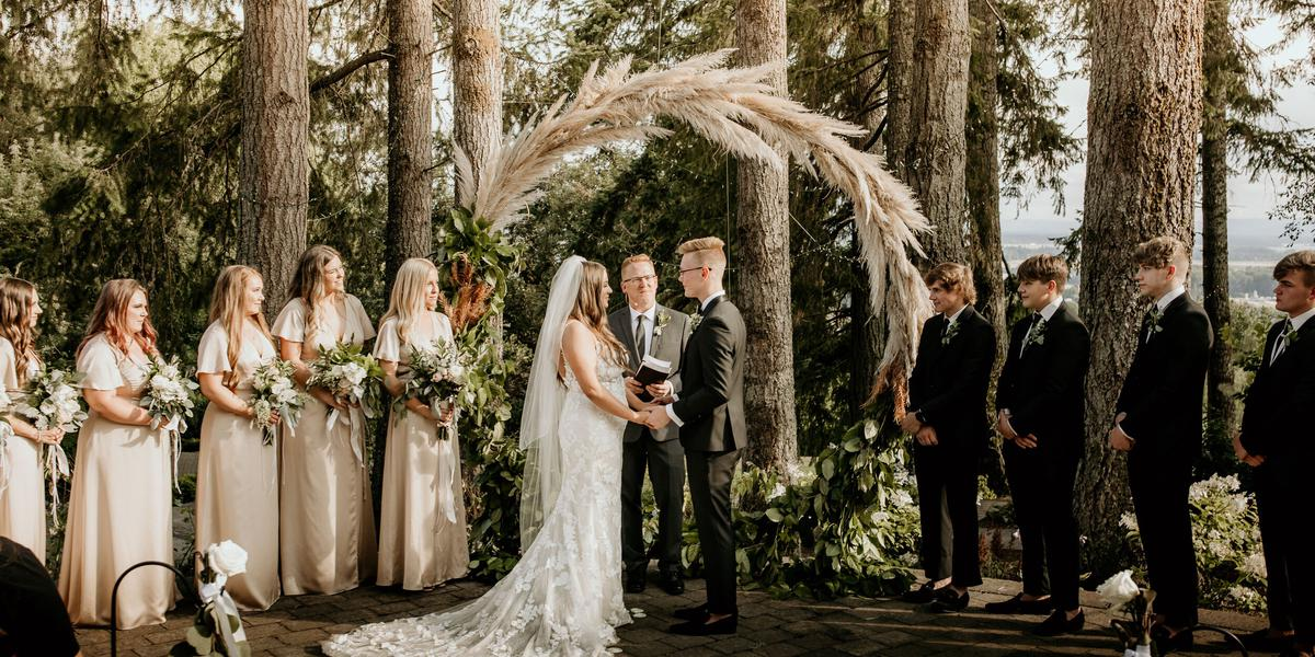 The Empress Estate wedding Seattle