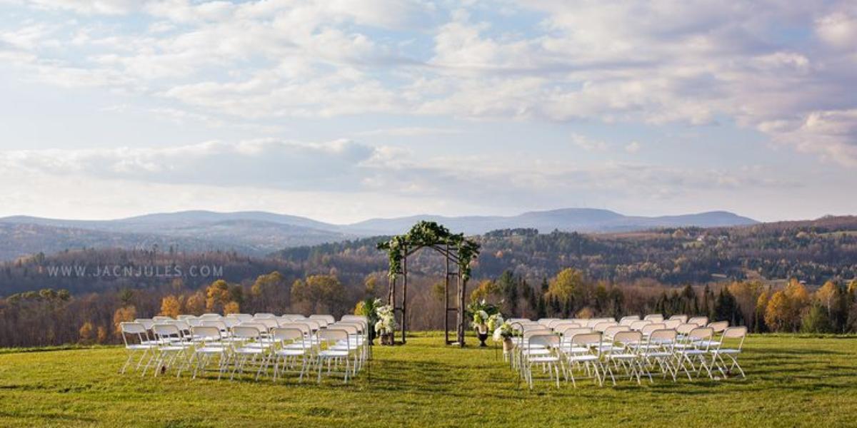 The Inn At Mountain View Farm wedding Vermont