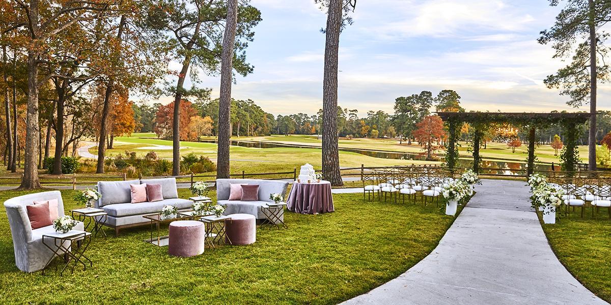 The Clubs of Kingwood wedding Houston