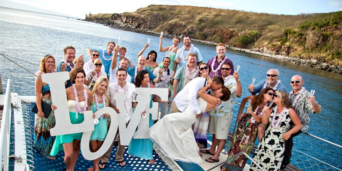 Trilogy Excursions wedding Maui