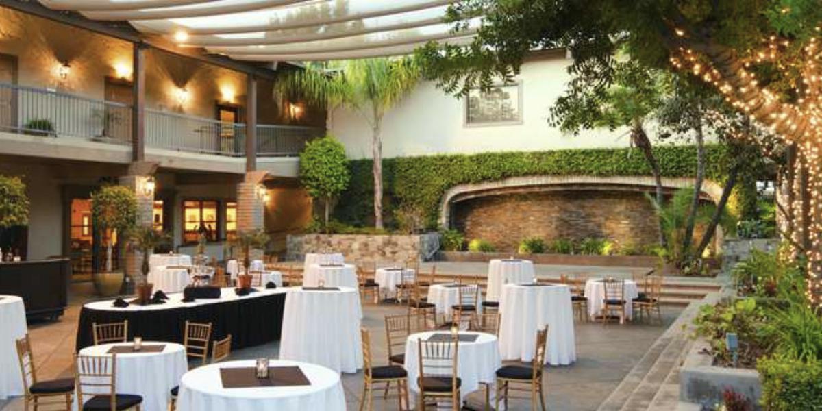 DoubleTree by Hilton Hotel Claremont wedding Inland Empire