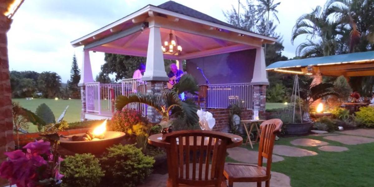 Gaylord's at Kilohana wedding Kauai