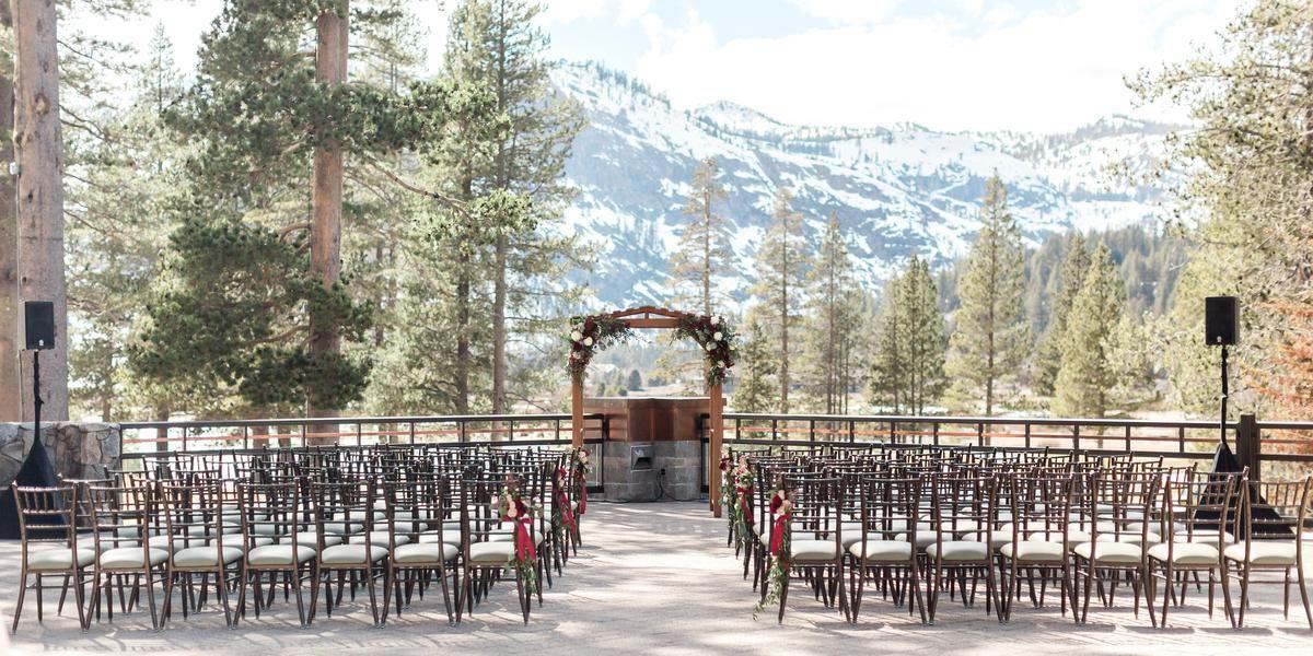 Resort at Squaw Creek wedding Tahoe
