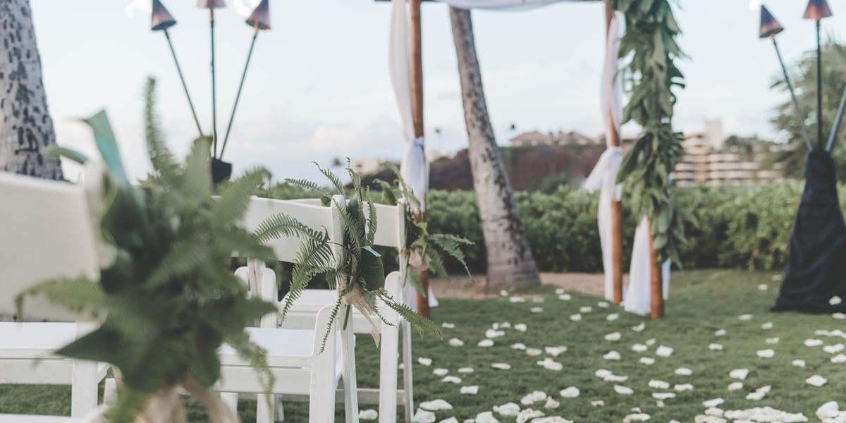 Kaanapali Beach Hotel wedding Maui