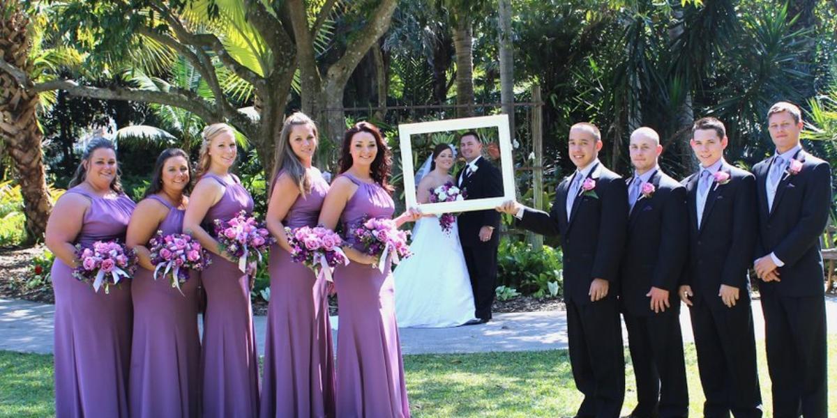 Heathcote Botanical Gardens wedding Central Florida Beaches/Coast