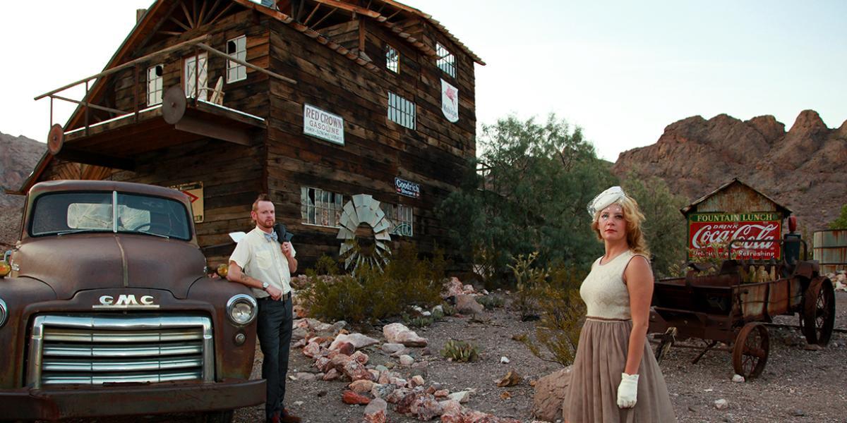 Eldorado Canyon Ghost Town wedding Las Vegas