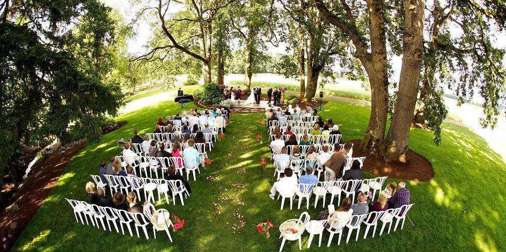 Postlewait's Country Weddings wedding Portland