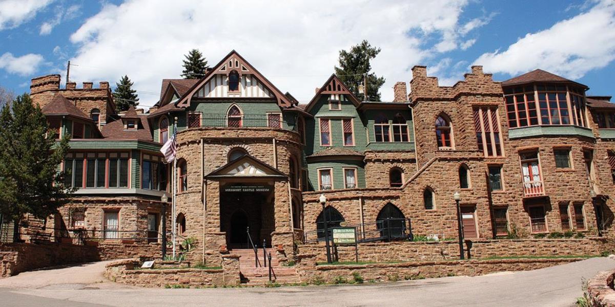 Miramont Castle Museum wedding Colorado Springs