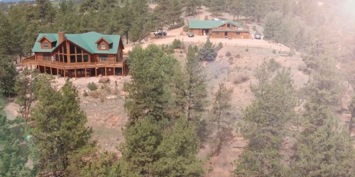 TihsreeD Lodge wedding Colorado Springs