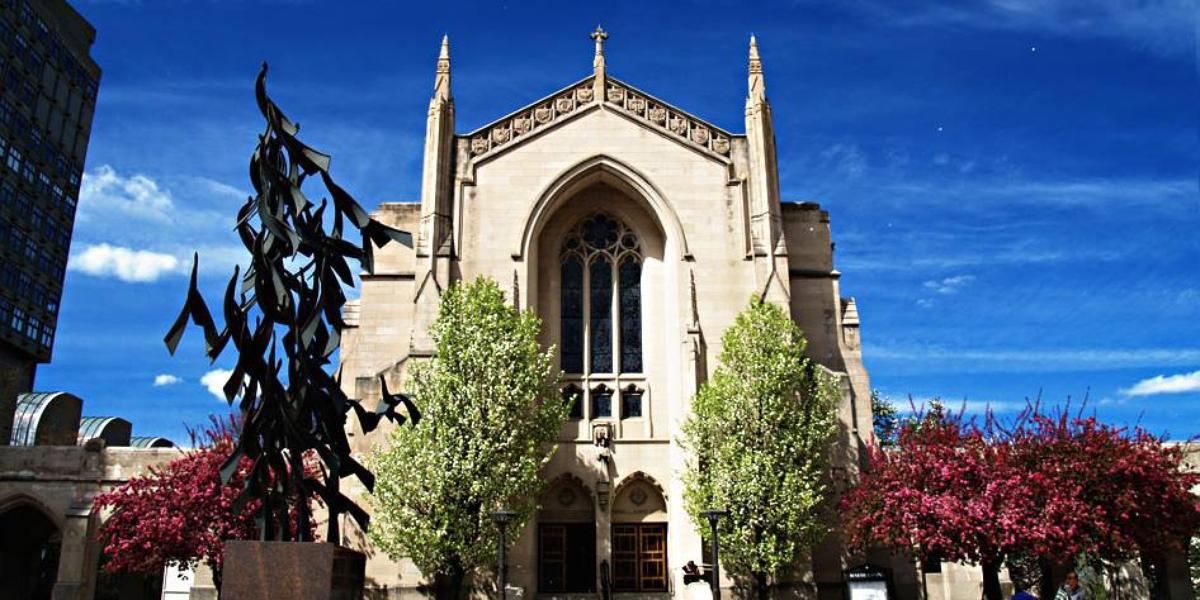 Boston University Marsh Chapel wedding Boston