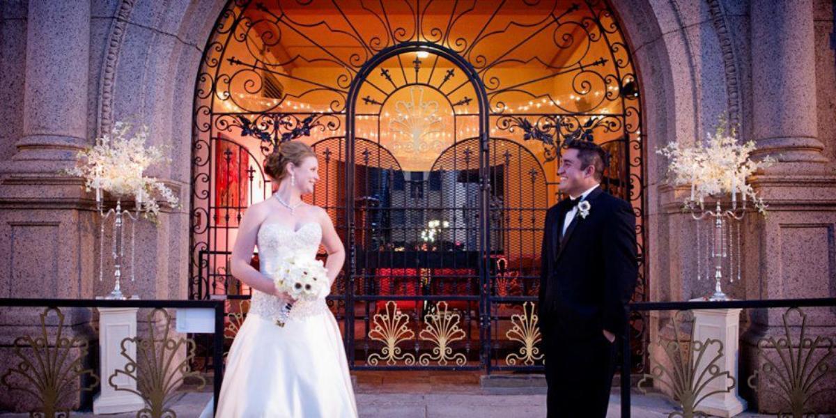 The Mining Exchange wedding Colorado Springs