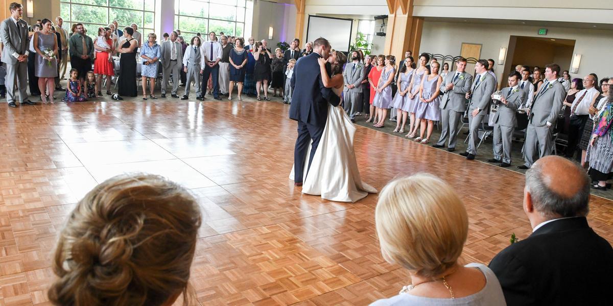 Davis Center At The University Of Vermont wedding Vermont