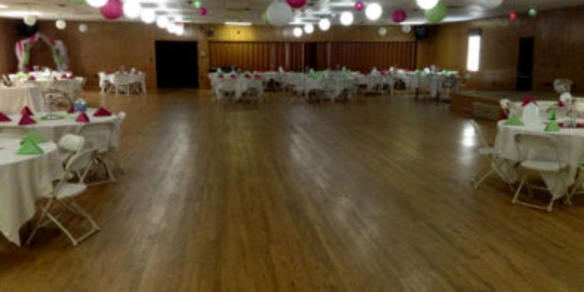 Wright City Lions Club wedding St. Louis