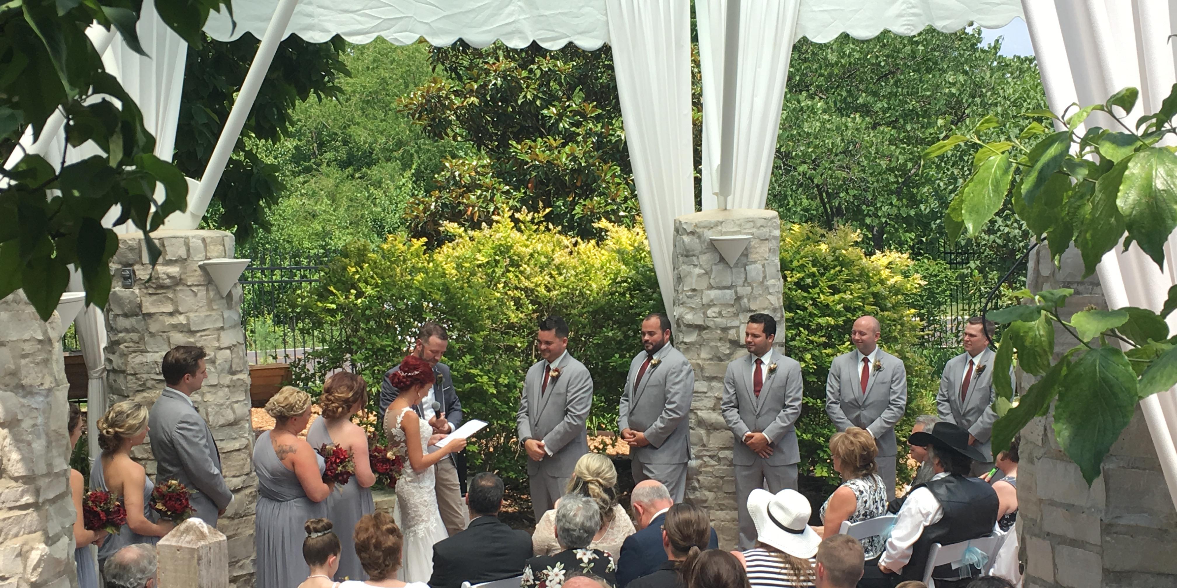 Sophia M Sachs Butterfly House wedding St. Louis