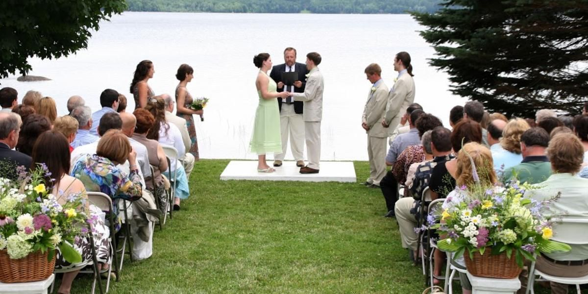 Alamoosook Lakeside Inn wedding Maine