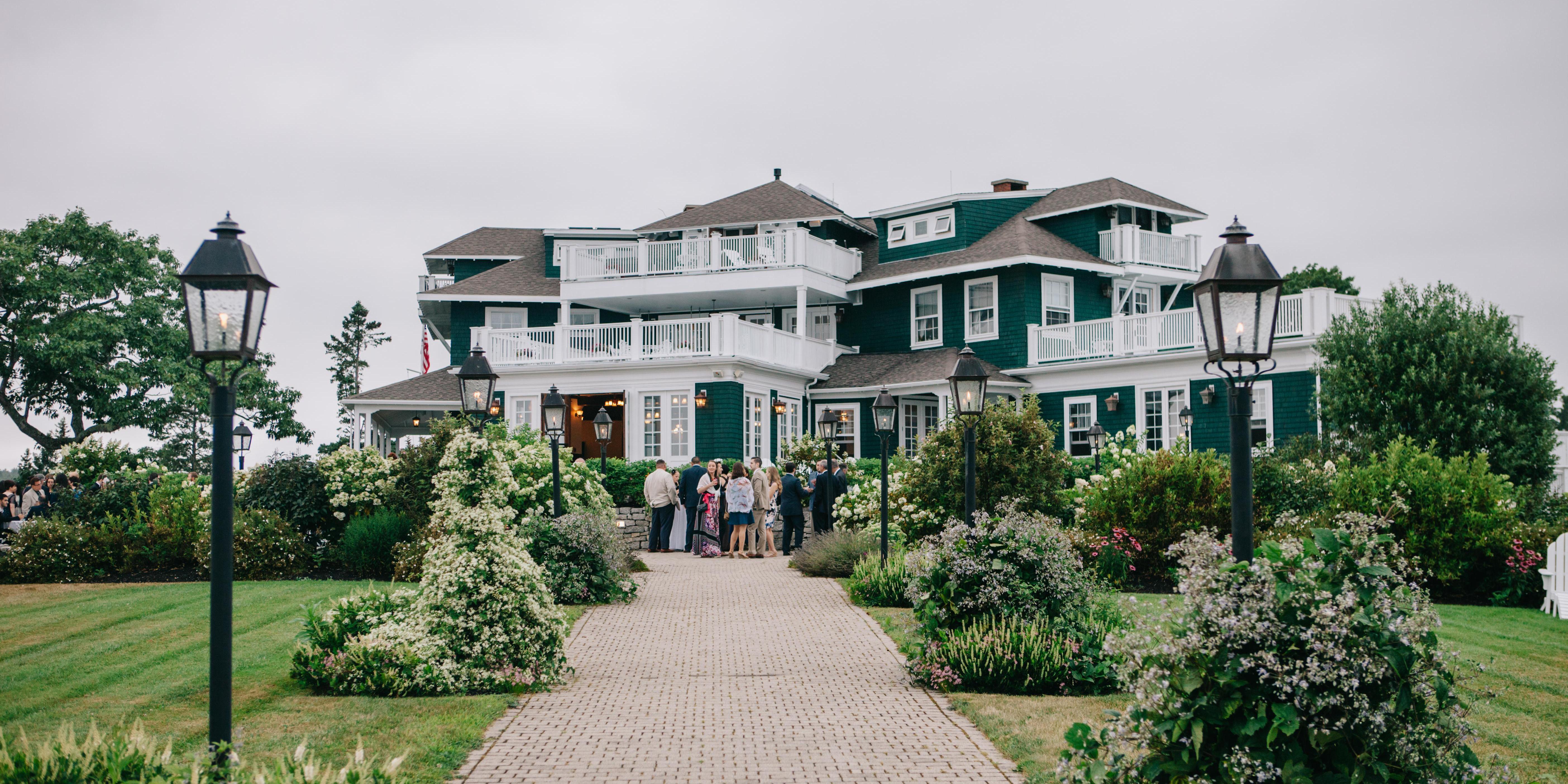 French's Point wedding Maine