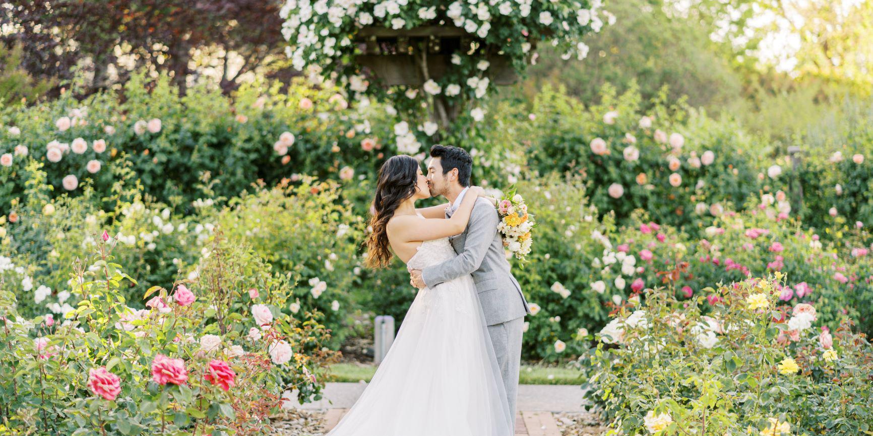 The Gardens at Heather Farm wedding East Bay