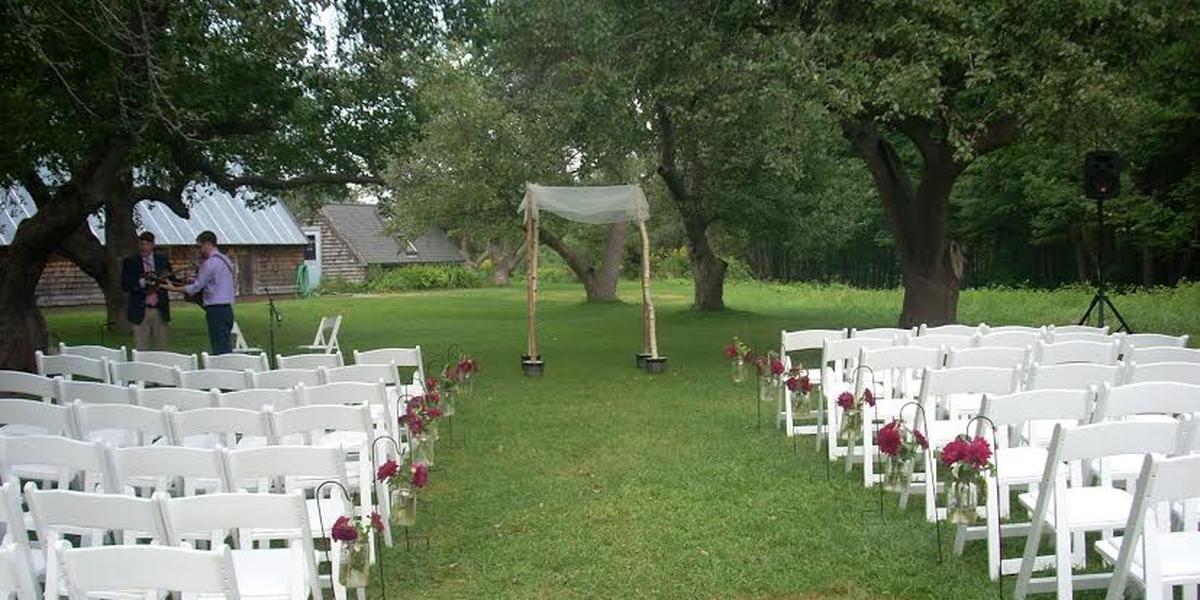 Gilsland Farm Audubon Center wedding Maine