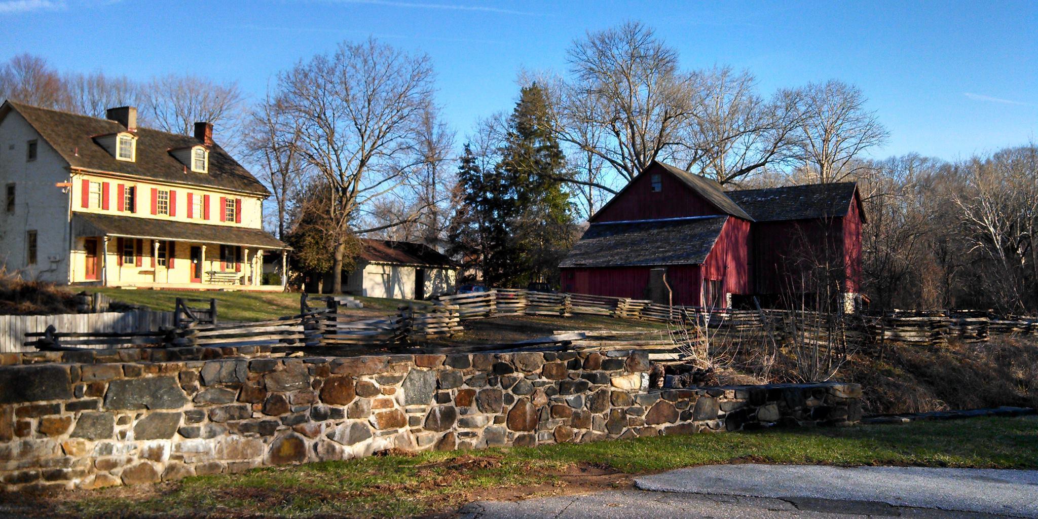 Greenbank Mills & Phillips Farm wedding Delaware