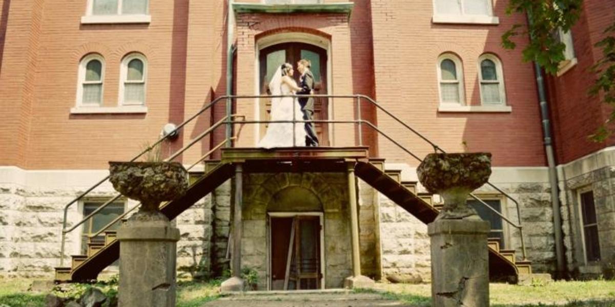 Arcadia Academy/The Abbey Kitchen wedding Southeast Missouri