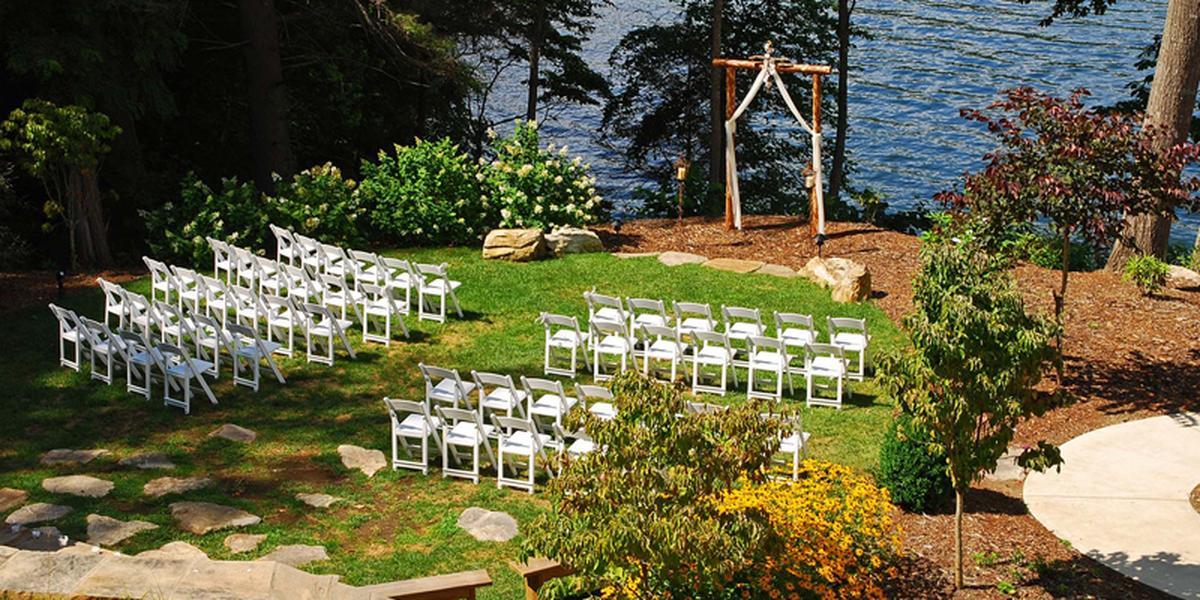 Bear Lake Reserve wedding Asheville