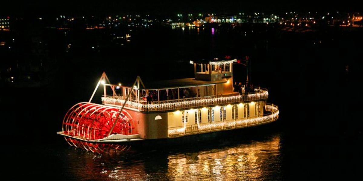 Scarlett Belle Riverboat wedding Santa Barbara