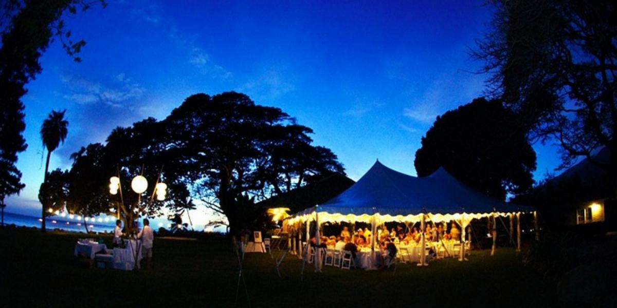 Olowalu Plantation House wedding Maui