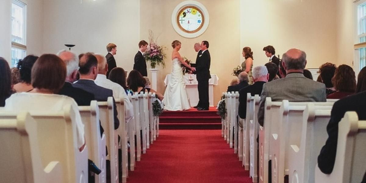 Universalist Unitarian Church of Farmington wedding Detroit