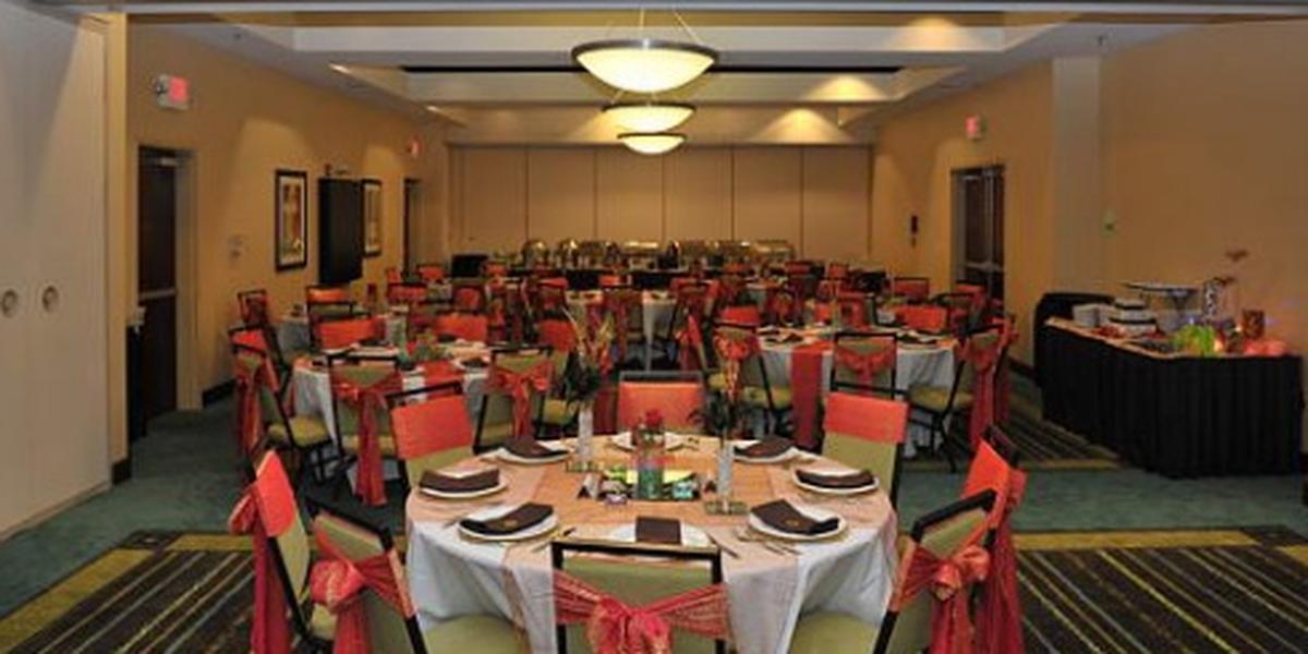 Holiday Inn St. Louis Fairview Heights wedding St. Louis