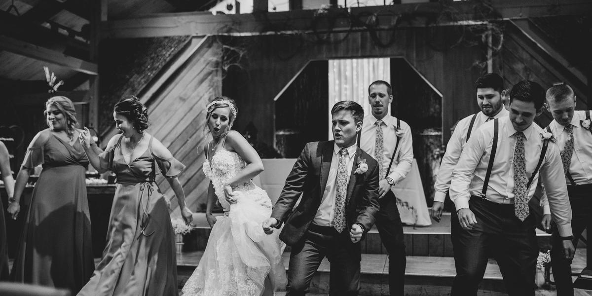 The Barn Event Center of the Smokies wedding Gatlinburg