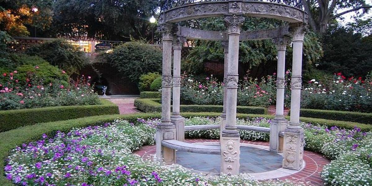 Janie E Furman Rose Garden wedding Greenville